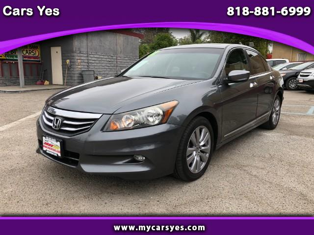 2012 Honda Accord Sdn 4dr Sedan EX Auto V6
