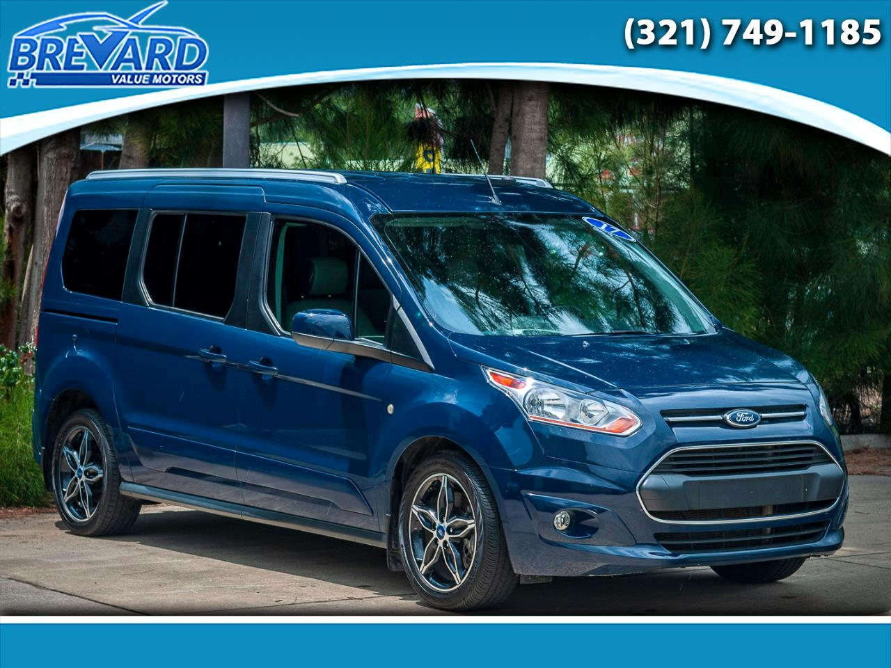 2017 Ford Transit Connect Wagon Titanium w/Rear Liftgate LWB