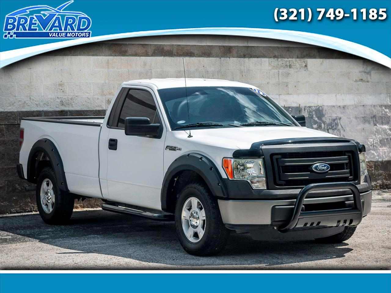 2013 Ford F-150 XLT 8-ft. Bed 2WD