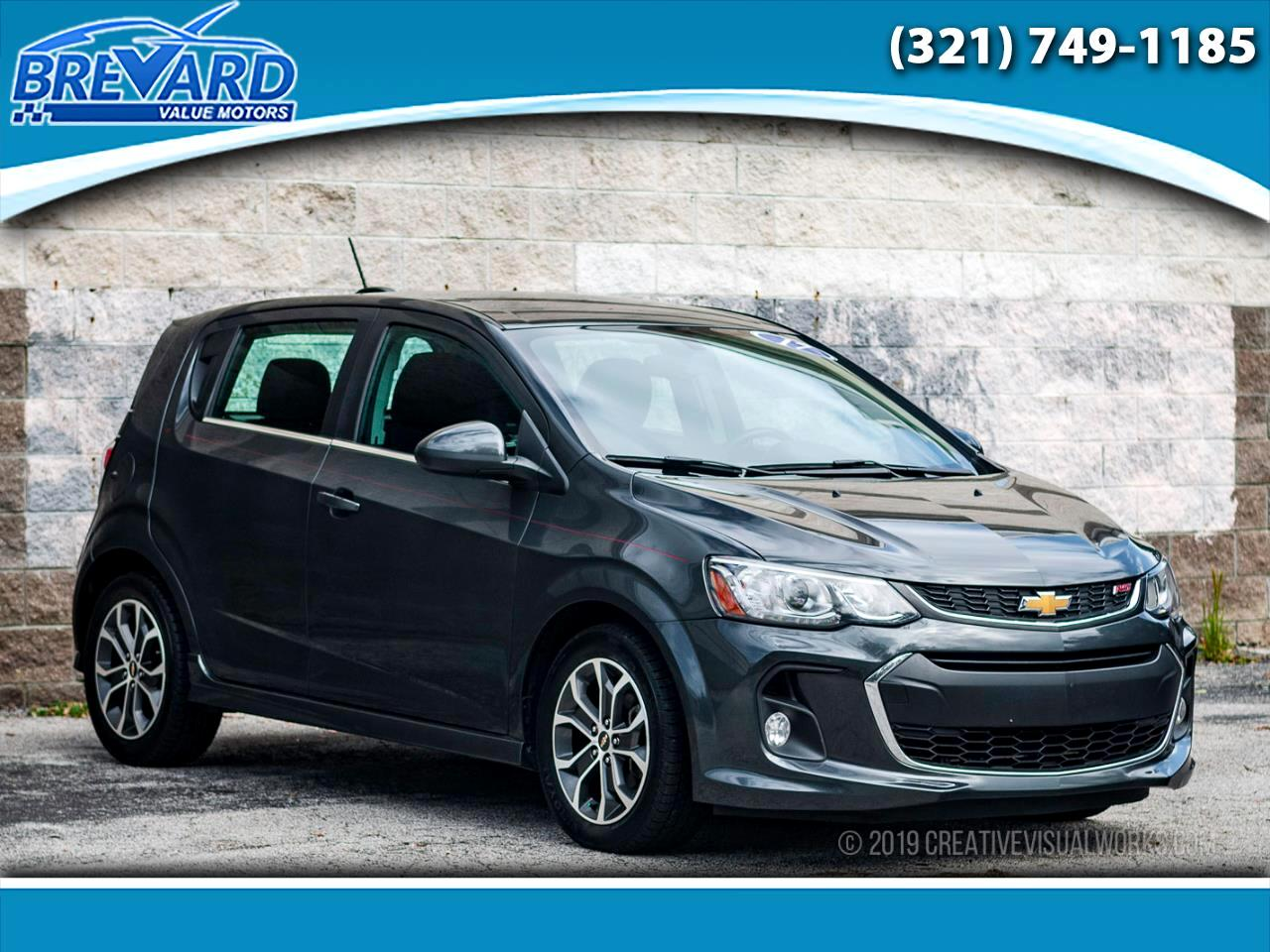 2017 Chevrolet Sonic LT Manual 5-Door