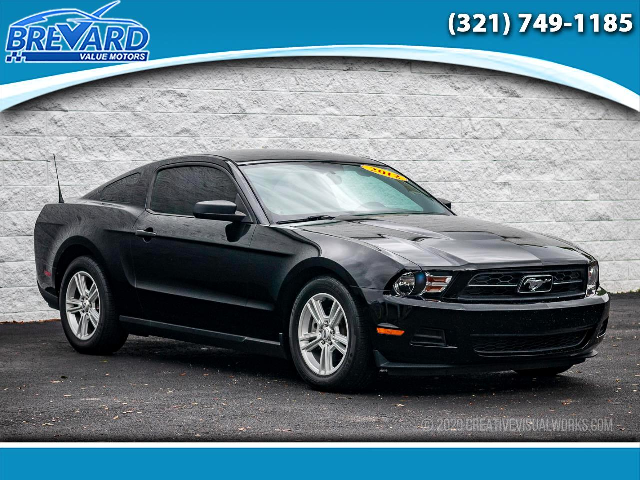 Ford Mustang Premium Coupe 2012