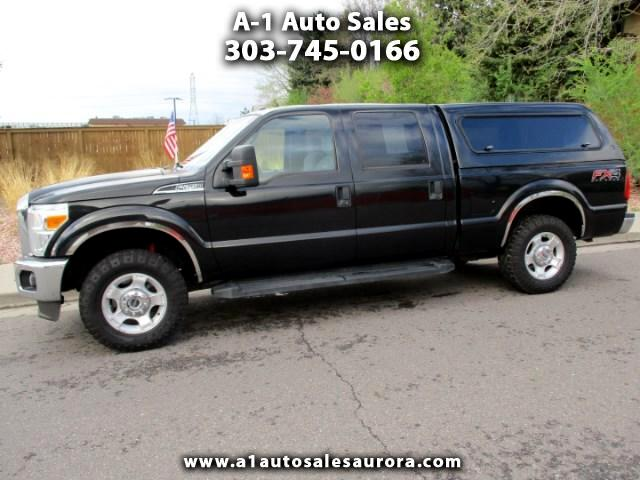 2014 Ford F-250 SD Crew Cab 4WD
