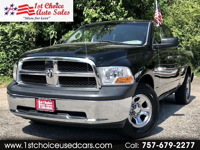 2011 Dodge 1500 SLT Quad Cab 4WD