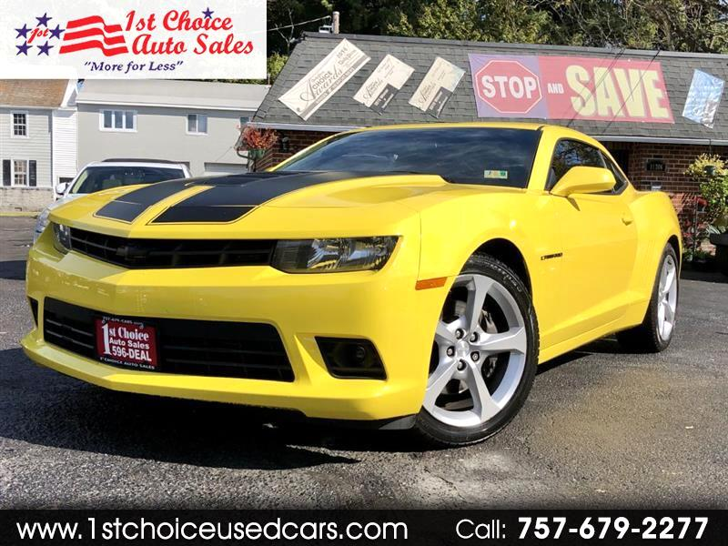 Chevrolet Camaro 1SS Coupe 2014