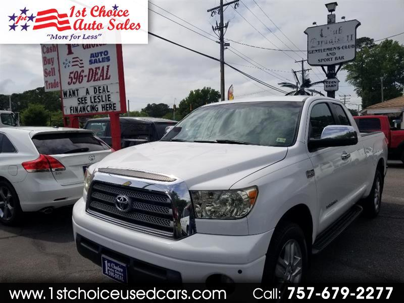 Toyota Tundra Limited Double Cab 5.7L 4WD 2008