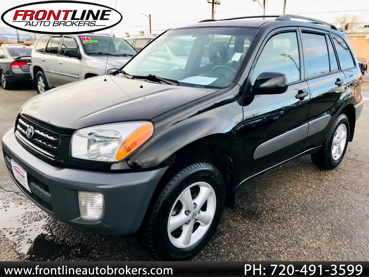 2001 Toyota RAV4 4dr Manual 4WD (Natl)