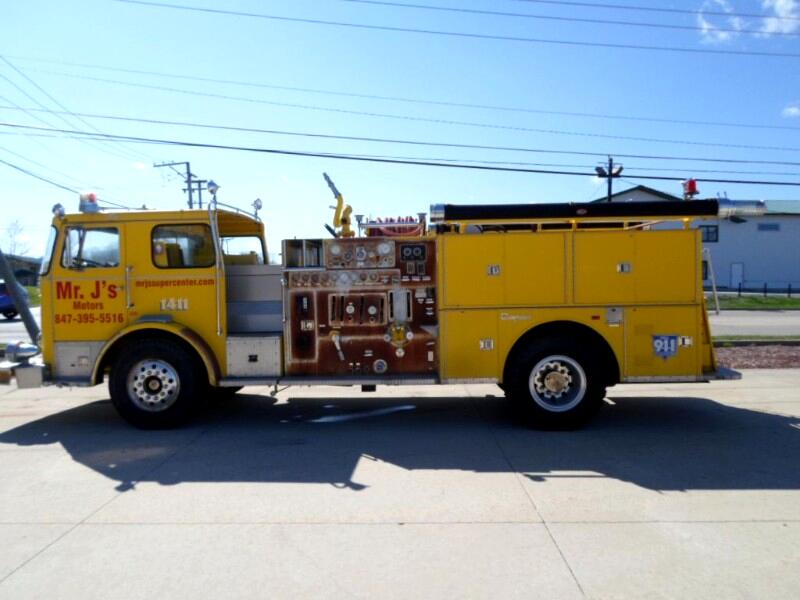 1982 Seagrave Pumper Fire Truck Custom