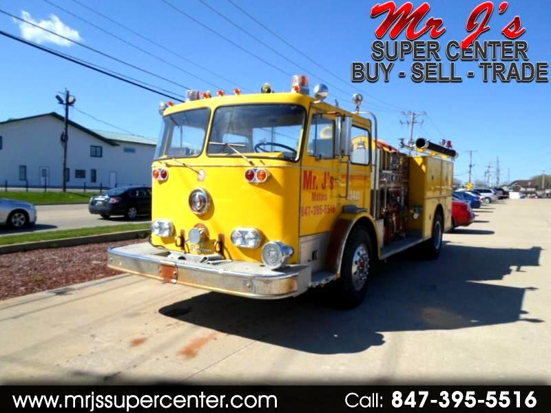 1982 Seagrave Pumper Fire Truck Custom