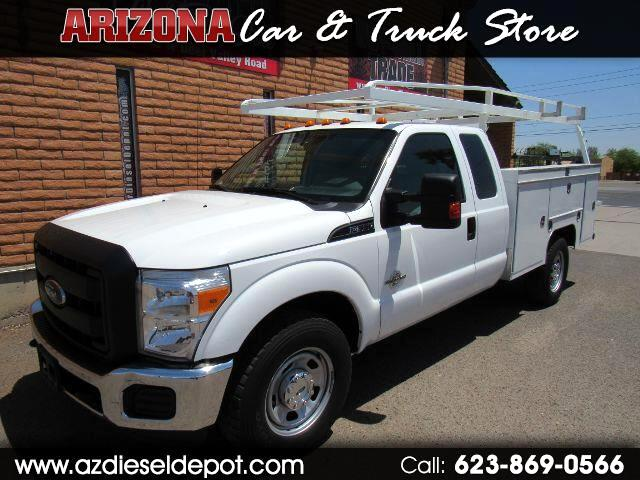 "2015 Ford Super Duty F-350 SRW 2WD SuperCab 162"" WB 60"" CA XL"