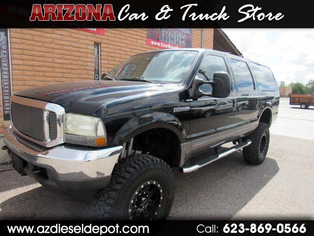 "2002 Ford Excursion 137"" WB 7.3L XLT 4WD Spec. Service"