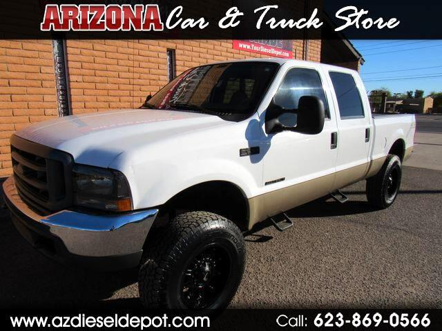 2000 Ford Super Duty F-250 4WD Crew Cab 156