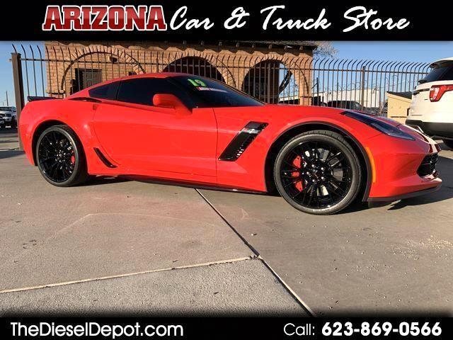 Chevrolet Corvette 2dr Z06 Cpe w/1LZ 2019