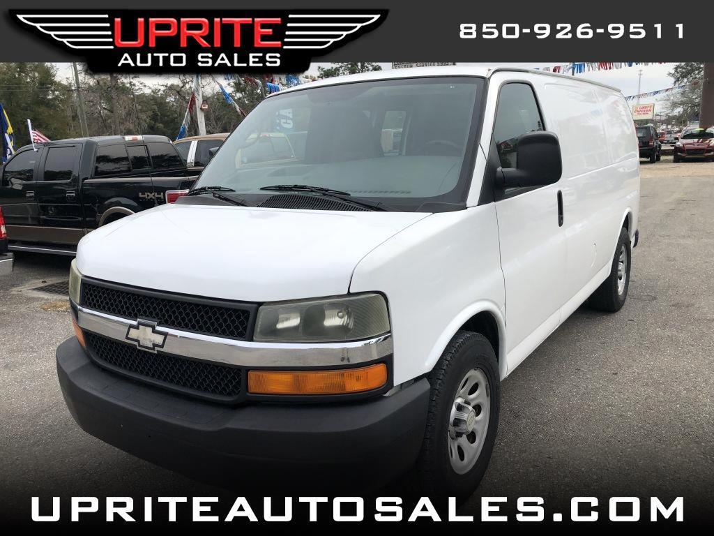 """Chevrolet Express Cargo Van RWD 1500 135"""" 2010"""