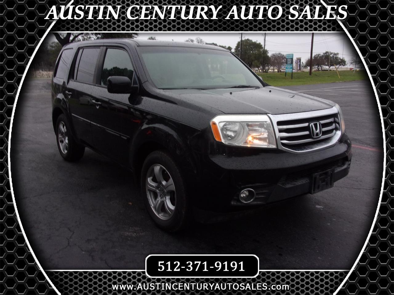 Honda Pilot EX-L 2WD 5-Spd AT with Navigation 2012