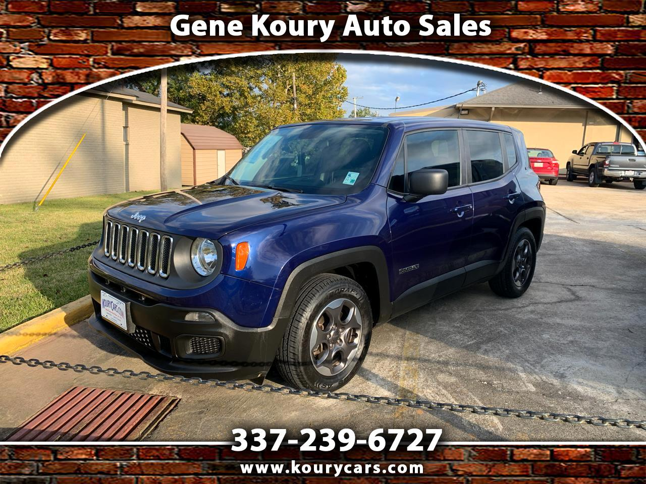 2016 Jeep Renegade Sport FWD