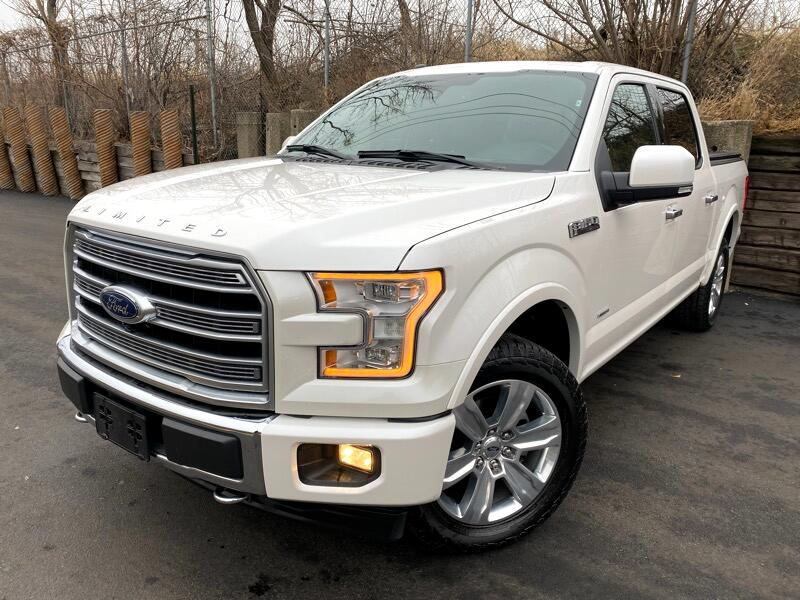 2017 Ford F-150 LIMITED SUPERCREW 6.5-FT 4WD