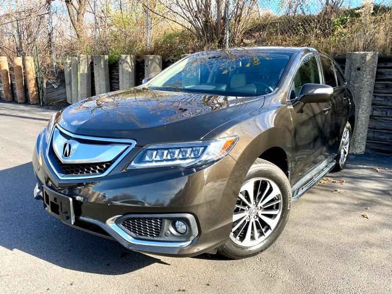 Acura RDX 6-Spd AT AWD w/Advance Package 2017