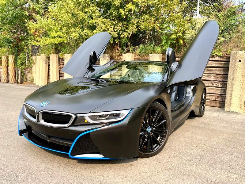 BMW i8 Convertible 2019