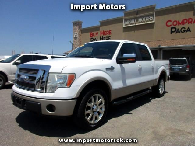 2009 Ford F-150 King Ranch SuperCrew Short Bed 4WD
