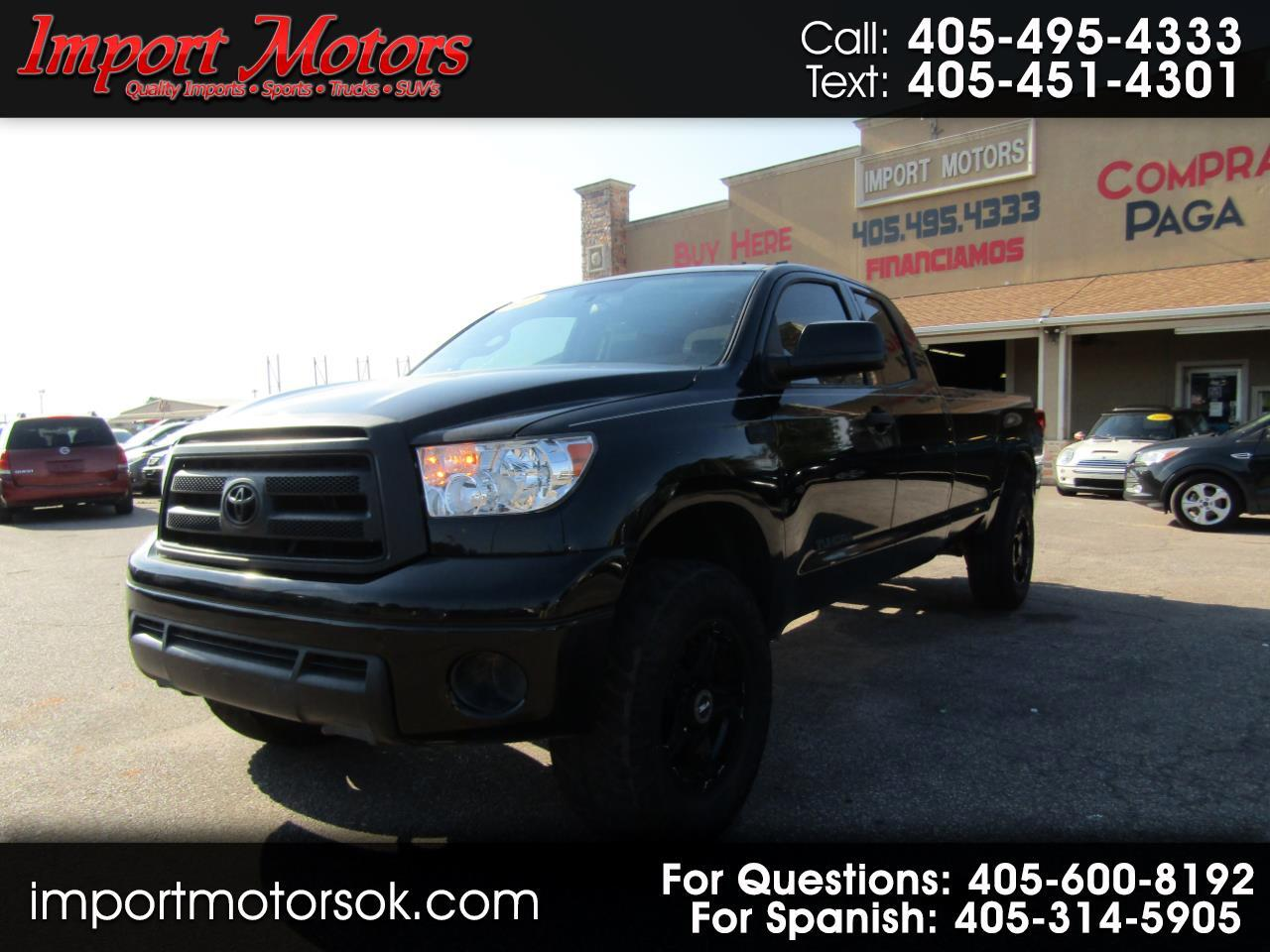 Toyota Tundra SR5 5.7L V8 Double Cab 4WD Long Bed 2013