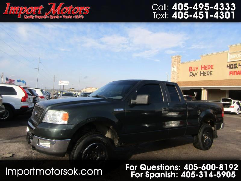 "Ford F-150 4WD SuperCrew 145"" XLT 2005"
