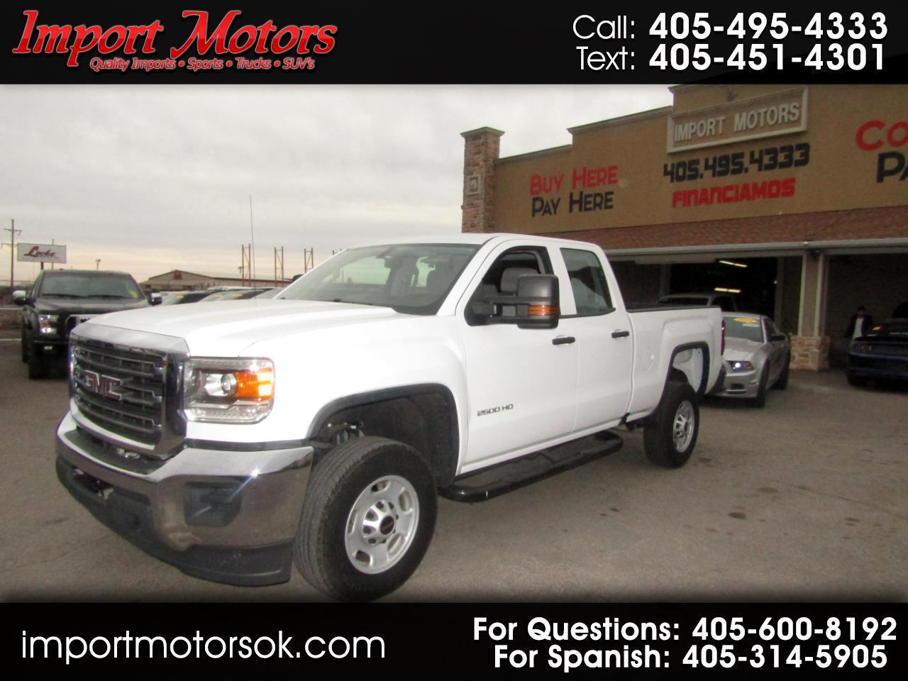 GMC Sierra 2500HD Base Double Cab Long Box 2WD 2017
