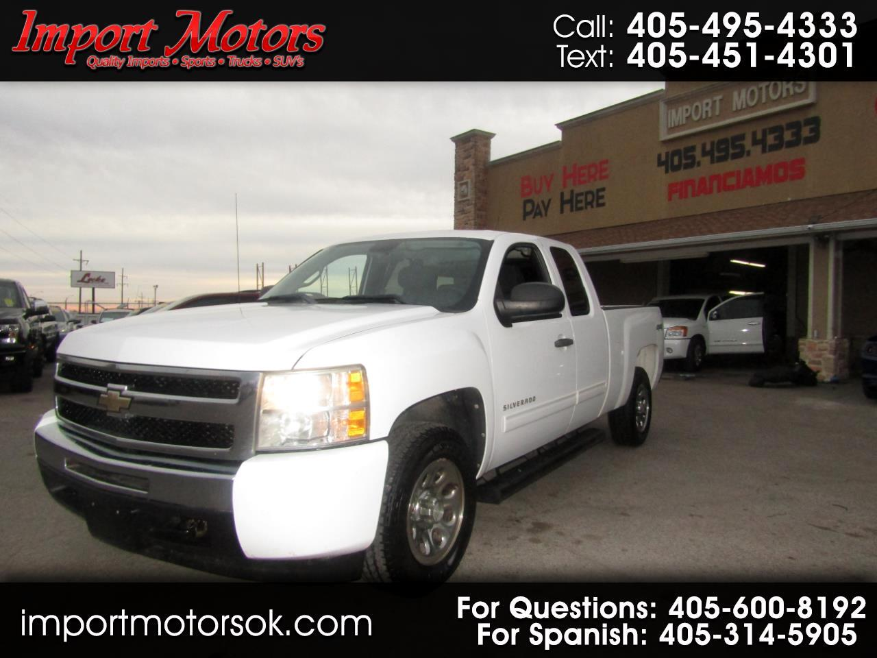 Chevrolet Silverado 1500 Ext. Cab 4-Door Short Bed 4WD 2011