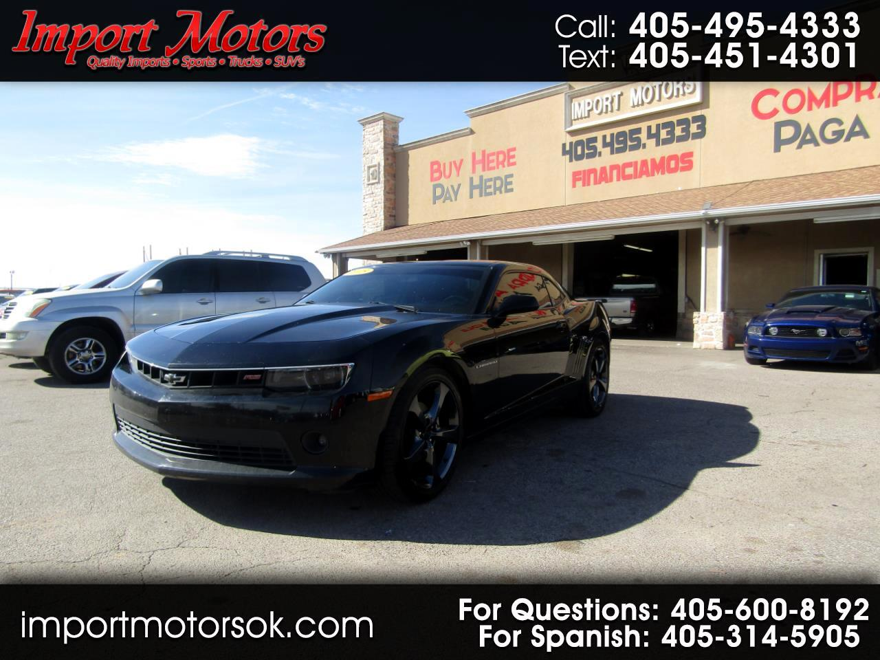 Chevrolet Camaro RS Coupe 2015
