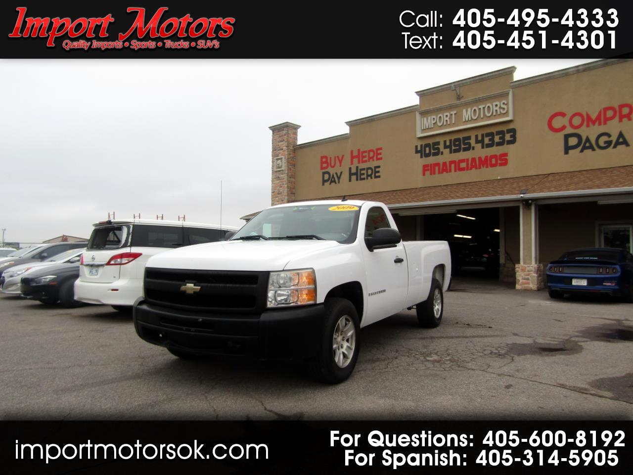 Chevrolet Silverado 1500 Work Truck Long Box 2WD 2009