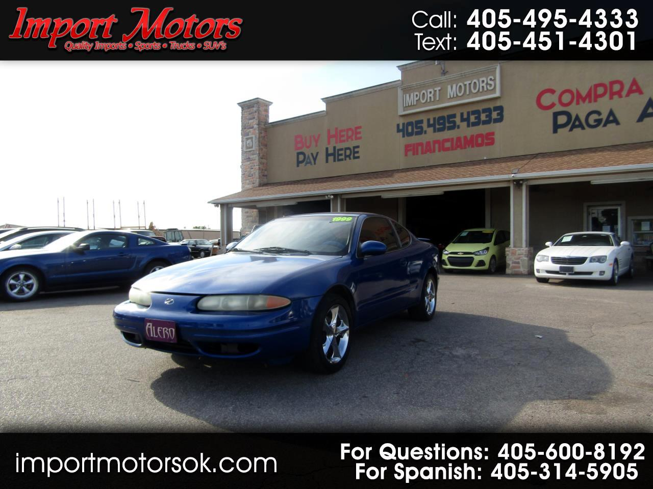 Oldsmobile Alero GL coupe 1999