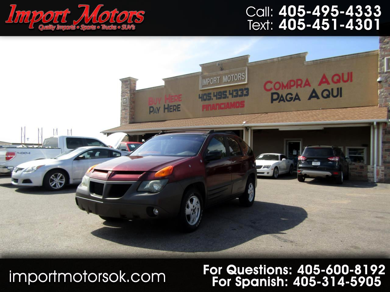 Pontiac Aztek 4dr All Purpose FWD 2001