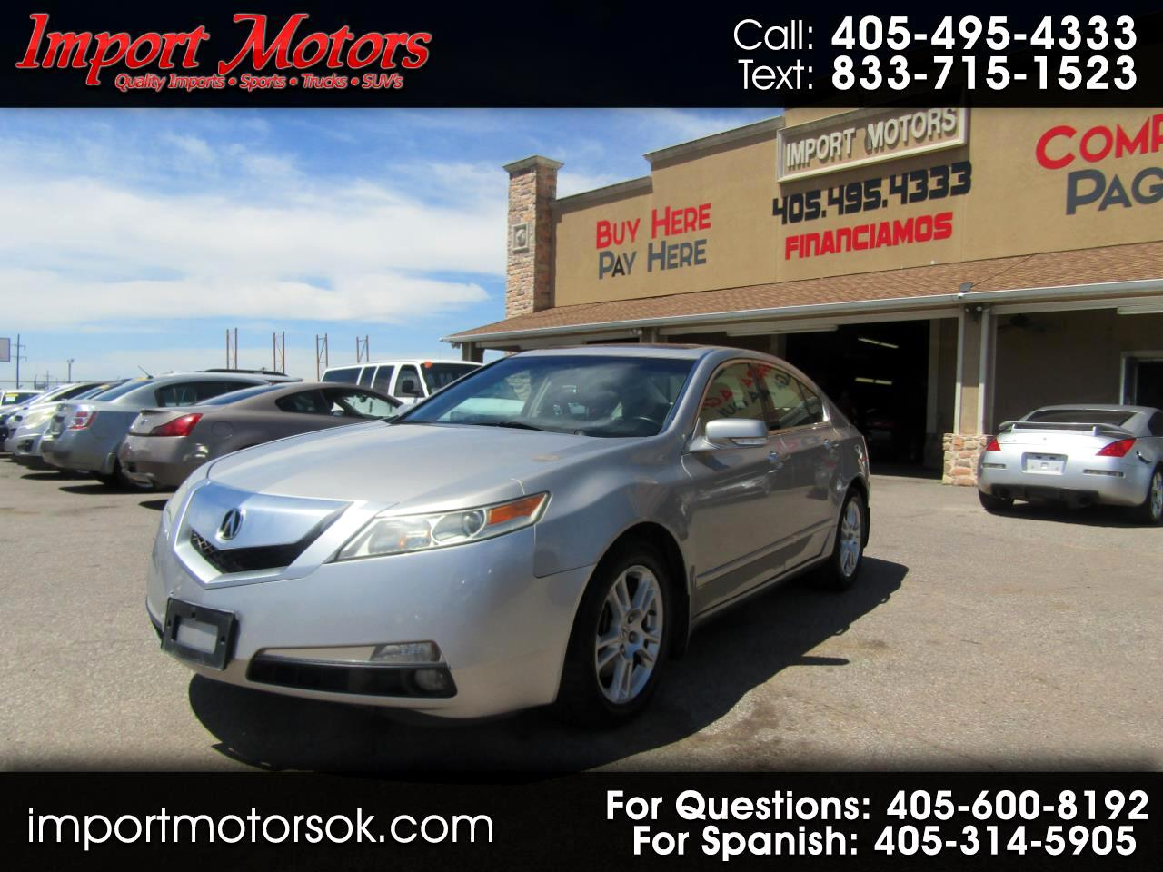 Acura TL 6-Speed AT with Tech Package 2011