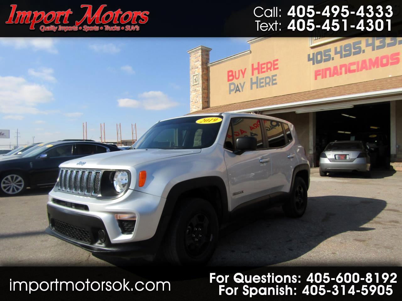 Jeep Renegade Sport 4WD 2019