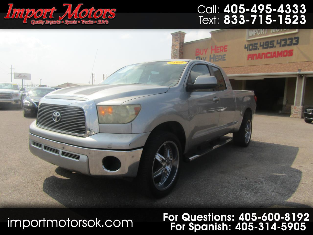Toyota Tundra Limited Double Cab 2WD 2008