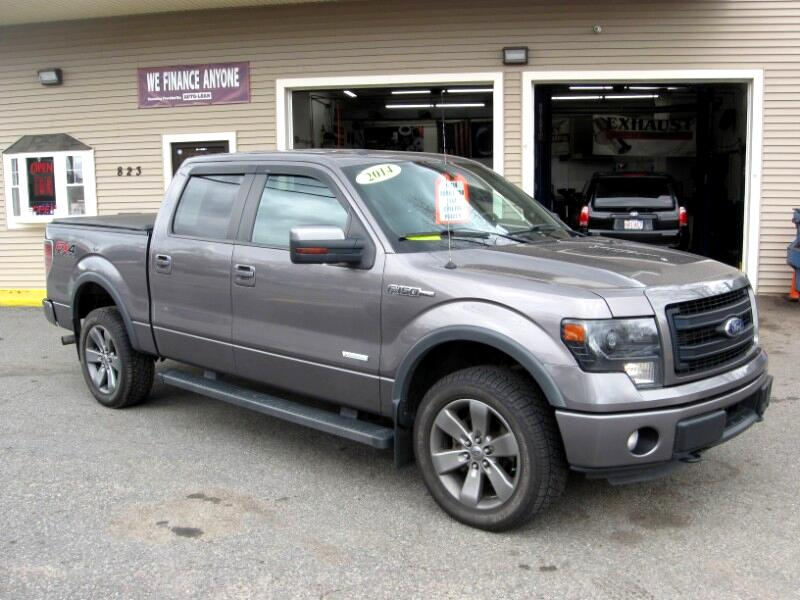 """2014 Ford F-150 4WD SuperCrew 150"""" FX4"""