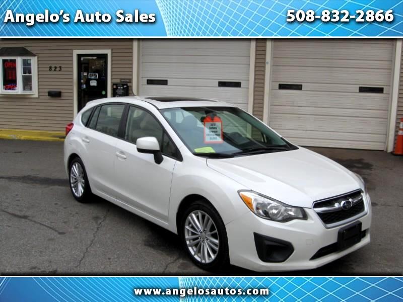 Subaru Impreza Premium Plus 5-Door+S/R 2012