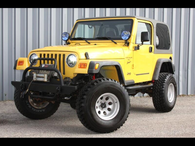 Jeep Wrangler Sport 2000