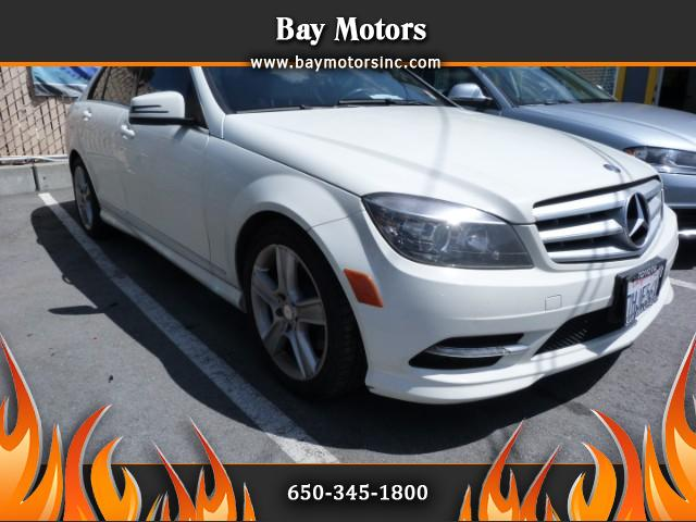 2011 Mercedes-Benz C-Class 4dr Sdn 3.0L Luxury RWD