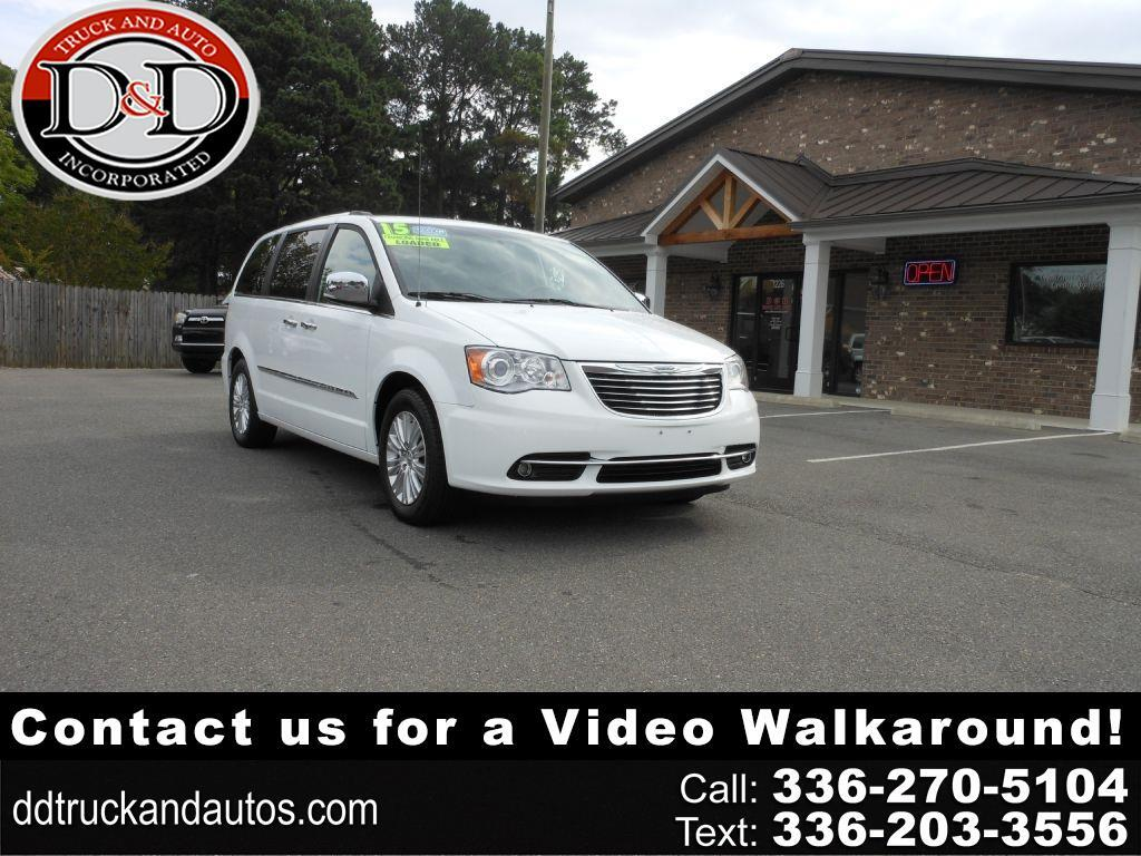 Chrysler Town & Country Limited Platinum 2015