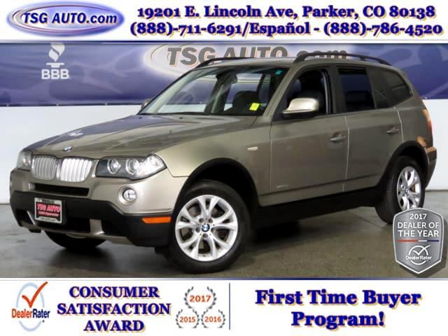 2010 BMW X3 3.0L L6 AWD W/Leather