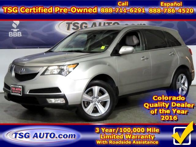 2010 Acura MDX 3.7L V6 AWD W/Leather SunRoof