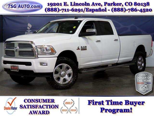 2015 RAM 2500 Limited Crew Cab 6.7L I6 4WD W/NAV Leather