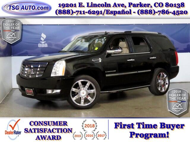 2009 Cadillac Escalade Luxury 6.2 V8 AWD w/Nav Leather SunRoof