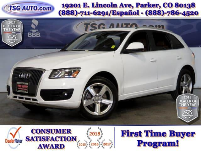 2012 Audi Q5 Premium Plus 2.0L I4 Turbo AWD W/NAV Leather