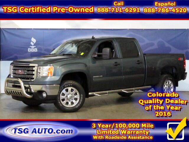 2013 GMC Sierra 2500HD SLE Z71 Crew Cab 4WD 6.6L V8 W/Leather