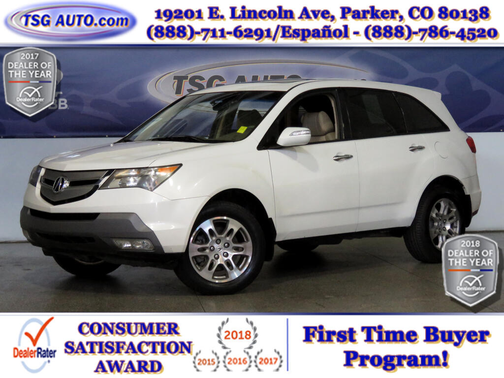 2008 Acura MDX 3.7L V6 AWD W/Leather ThirdRow
