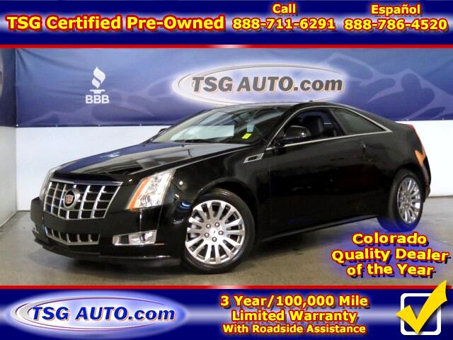 2013 Cadillac CTS Performance 3.6L V6 AWD w/Leather