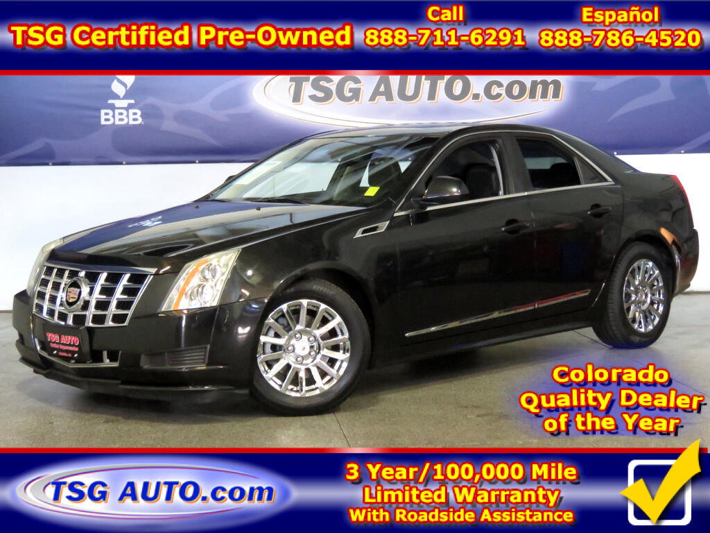 2013 Cadillac CTS Luxury 3.0L V6 AWD W/Leather SunRoof