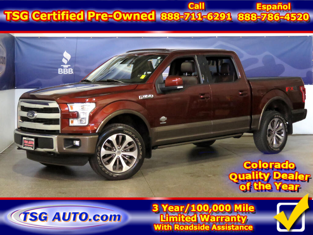 2015 Ford F-150 King Ranch Super Crew 3.5L V6 Turbo 4WD W/NAV