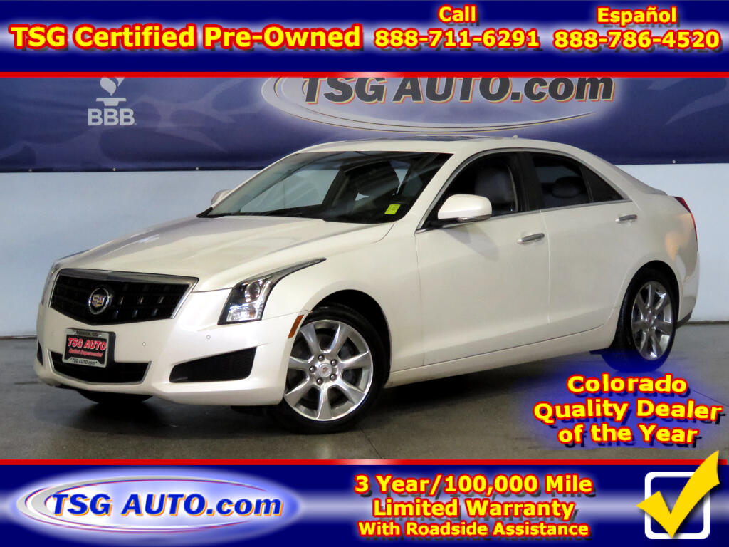 2013 Cadillac ATS Luxury 2.0L I4 Turbo AWD W/Leather